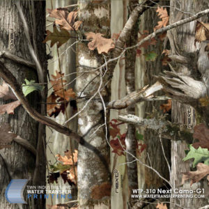 Next Camo G1 Microprint™ is a flagship hunting pattern with leaves, limbs, and trees by Next Camo™.