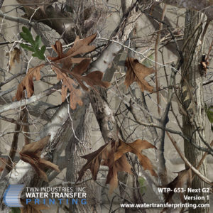 Next Camo G2™ is the widest format traditional leaf and limb camouflage on the market. This pattern features a well-balanced mix of non-directional elements which allow it to perform in a wider range of terrain and disguise the obvious repeat present in many vertical camouflage patterns.