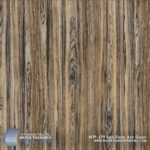 Two-Tone Ash Grain hydrographic film features a weathered straight wood grain with a unique mixture of light brown and dark gray coloration.